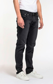 Mud Regular Dunn Organic Jeans - Stone Black
