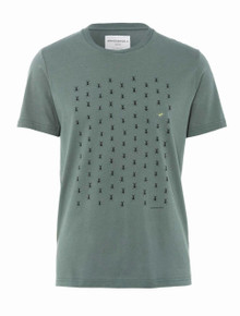 James 99 Ants T - Graphite Green