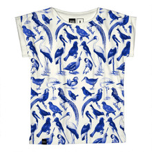 Visby Blue Birds - Off-White
