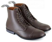 Vegetarian Shoes Vegan Aubrey Boot - Brown