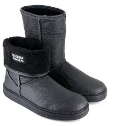 Snug Boot - Pinatex Black