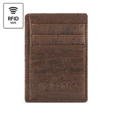 Standard Cork Card Holder - Dark Brown