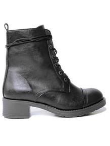 Wills Vegan Aviator V2 Boots - Black