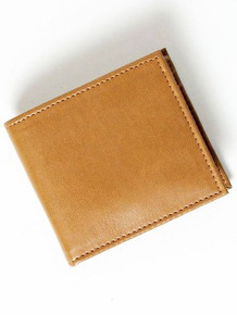Coin Wallet - Tan