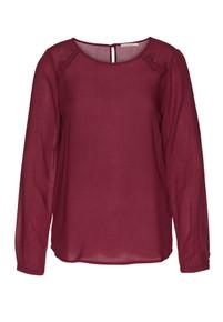 Simla Shirt - Cranberry Red