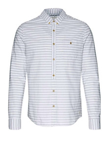 Elmer Striped Shirt - Grey