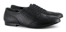 Beatrix Brogue - Black