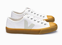 Wata Canvas (Mens) - White / Natural Sole