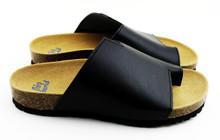 Avila Flat Sandal - Black