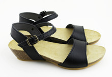 Paris Low Wedge - Black