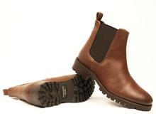 Wills Vegan Womens Chelsea Boot V2 - Chestnut