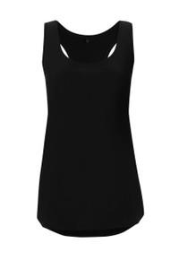 Organic Racerback Vest (Womens) - Black