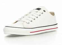 Classic Lo Cut - White / White