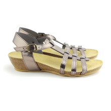 Ambreras Low Wedge - Pewter