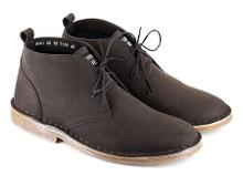 Vegetarian Shoes Vegan Bush Boot (Slim) - Brown