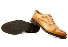 WVS BLACK COLLECTION - Brogue / Tan