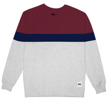Malmoe Sweatshirt - Stripe / Grey