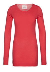 Eve Long Sleeve Top - Scarlet Red
