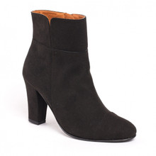 Bline Heeled Boot - Black