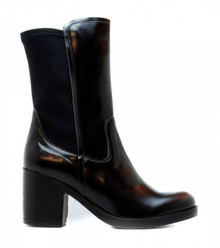 Nuria Calf Boot - Black