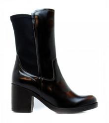 Nuria Calf Boot - Black
