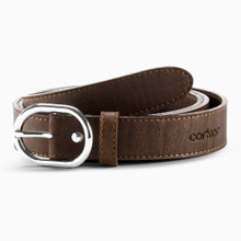 Womens Cork Belt 25mm - Brown