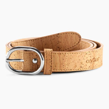 Womens Cork Belt 25mm - Light Brown