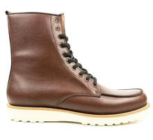Wills Vegan High Rig Boots - Brown