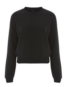 Cropped Sweatshirt (Womens) - Black