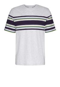Gustaav T-shirt - Grey Melange
