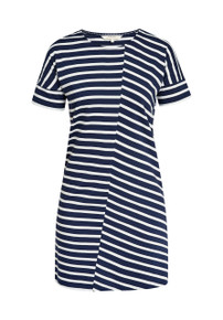 Cornelia Stripe Tunic - Navy