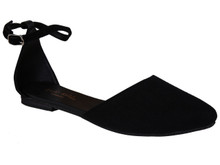 Sehni Strapped Shoe - Black
