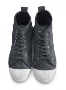Stella Lace Up Boot - Carbon