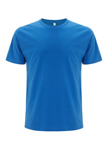 Organic T Shirt - Bright Blue
