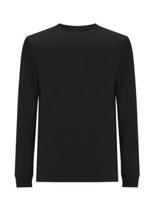 Organic LS Heavyweight T Shirt - Black