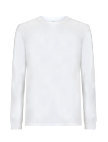Organic LS Heavyweight T Shirt - White