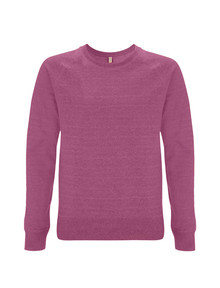 Recycled Sweatshirt - Melange Plum
