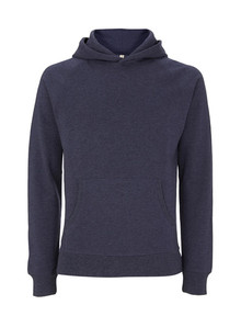 Unisex Recycled Pullover Hoody - Melange Navy
