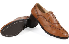 Oxford Brogues - Tan v2