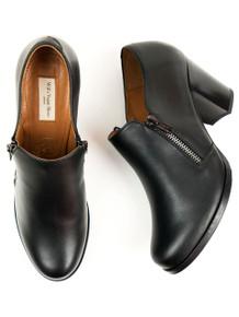 Zip Heels - Black