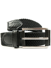 3.5 Woven Belt - Black