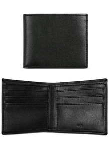 Slim Billfold Wallet - Black