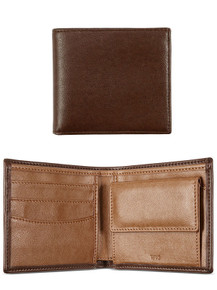 Billfold Coin Wallet - Chestnut