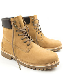 Dock Boot (Womens) - Tan Suede