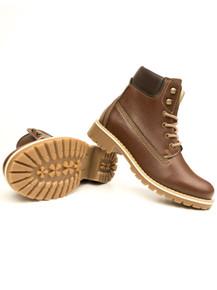 Wills Vegan Dock Boot (Mens) - Chestnut