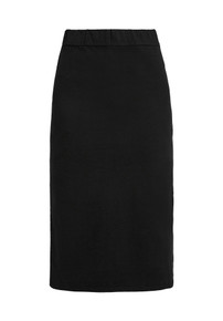Keira Organic Pencil Skirt - Black