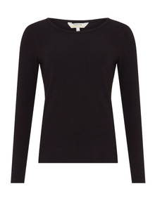 Fallon Organic Long Sleeve - Black