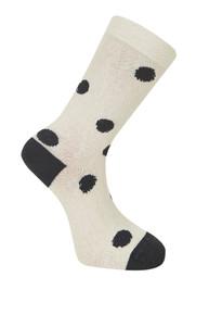 Kusama Socks - Oatmeal / Coal (36-38)