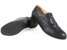 Womens Oxford Brogues V2 - Black