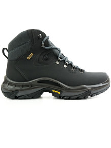 Waterproof Hiking Boots (Womens) - Black